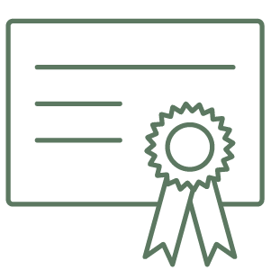 Ergonomics Certification Icon