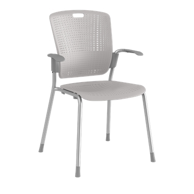 Cinto, Silver Frame with Light Grey Backrest and Seat