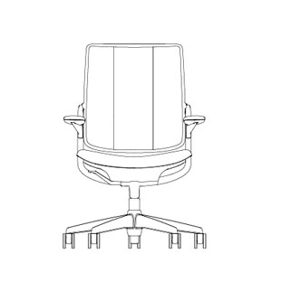Humanscale Ergonomic Task Chair Present Day