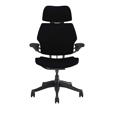 Freedom Task Chair with Headrest, Corde 4 Black Picture 2