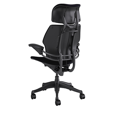 Freedom Task Chair with Headrest, Corde 4 Black Picture 3