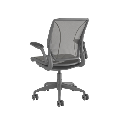 Diffrient World Chair, Pinstripe Back, Pinstripe Seat Graphie Picture 3